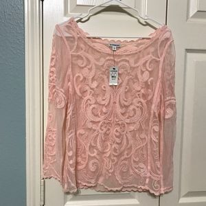 A beautiful lace top from EXPRESS